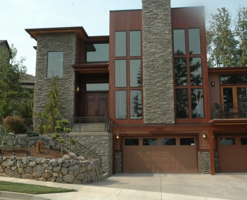 Another Custom Design built by Crescent Custom Homes Portland Oregon
