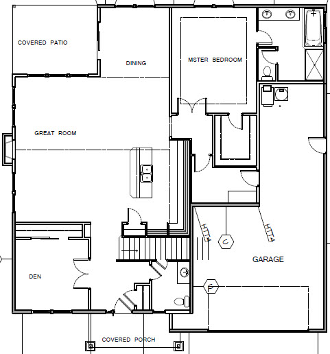 Crescent custom homes 14545 se poppy hills dr happy for 2600 square foot house plans