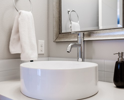 Bathroom sink – 6212 SE. Yamhill Portland Oregon