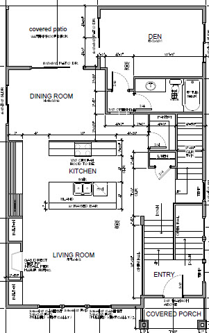 Crescent custom homes 5491 ne 32nd place portland for Adu garage plans