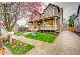Front view of house – 4700 Southeast Rural St., Portland, OR